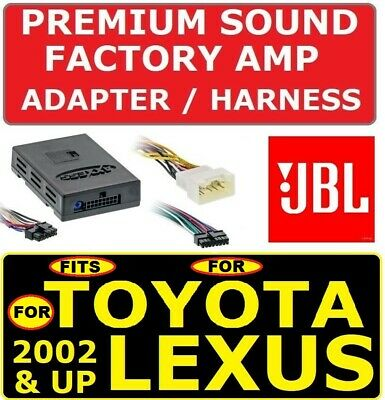 $79.99 • Buy For 02 & Up Toyota & Lexus Car Stereo Radio Premium Sound Amp Adapter Jbl