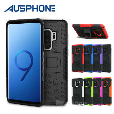 AU5.75 • Buy Slim Tough Armor Stand Heavy Duty Case Cover For Samsung Galaxy S9 J2 Pro A5 A7