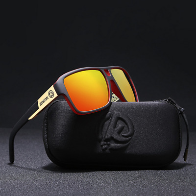AU11.76 • Buy KDEAM 12 Colors Mens Polarized Square Sunglasses Outdoor Sport Driving Glasses