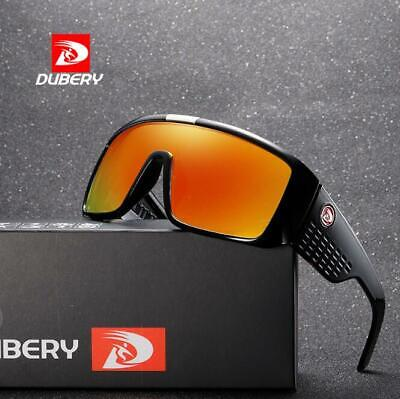 AU11.38 • Buy DUBERY Men Sport Sunglasses Large Frame Outdoor Driving Cycling UV400 Glasses
