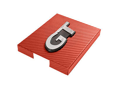 $35.95 • Buy 1998-2004 Mustang Red Carbon Fiber Stainless Engine Fuse Box Cover W/ GT Emblem
