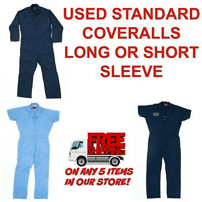 $15.49 • Buy Used Coveralls Cintas Redkap Unifirst Etc G&K MIXED COLORS