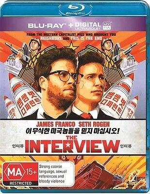 AU12.99 • Buy Interview, The, 2015 Comedy James Franco Blu-ray NEW