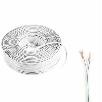 2 Pin Extension White Wire Connector Cable For 3528 5050 Single LED Strip Light • 5.98£
