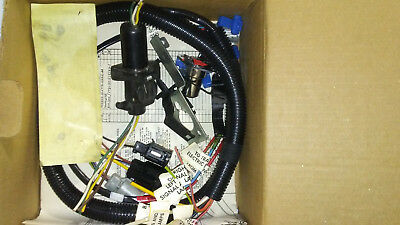 e7tb15a416aa nos ford oem trailer lamp & plug wiring harness 80's f150  bronco • 99 00$