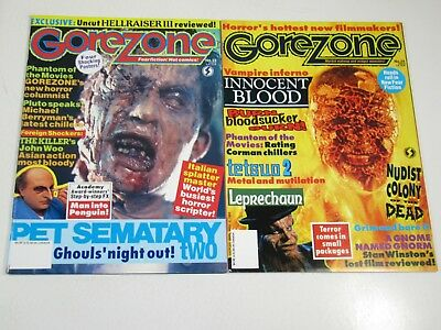 $19.51 • Buy Gore Zone Magazine Issues #23 & 24 Horror Movie; Posters Include Vampire Inferno
