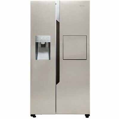 View Details Hisense RS694N4BC1 91cm Frost Free American Fridge Freezer Stainless Steel • 769.00£