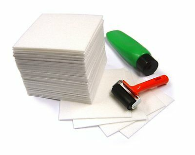 £12.35 • Buy A4 Safeprint Lino Block Printing Tiles Expanded Polystyrene Foam Sheets 25 Pack