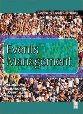 £2.57 • Buy Events Management By Glenn Bowdin, Ian McDonnell, Johnny Allen, William O'Toole
