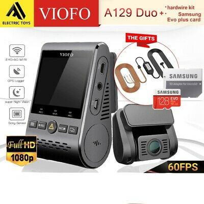 AU266 • Buy A129 Duo Viofo Dashcam Dual Lens Twin SONY Starvis Sensr 5GHz WIFI GPS Camera