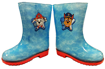 £8.75 • Buy Childrens Paw Patrol Chase Wellies Wellington Boots Blue Kids Sizes 4 5 6 7 8 9