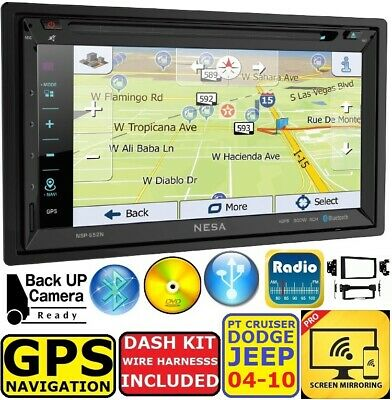 $249.99 • Buy  2004-2010 Pt Cruiser Durango Grand Cherokee  Navigation Cd/dvd Bluetooth Stereo