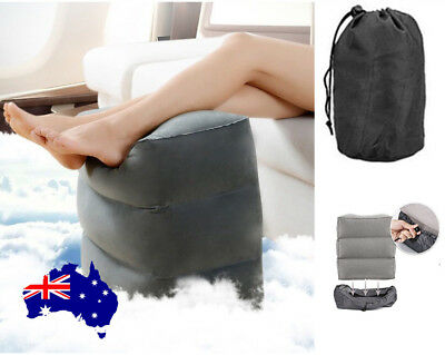 AU15.96 • Buy Inflatable Foot Rest Feet Air Pillow Cushion Leg Footrest For Holiday Travel AU