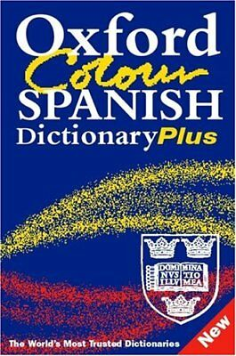 Oxford Colour Spanish Dictionary Plus: 2/e Revised By Nicholas Rollin, Carol St • 2.47£
