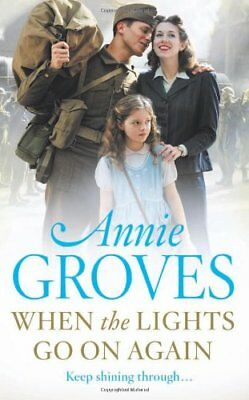 £3.20 • Buy When The Lights Go On Again (Campion) By Annie Groves