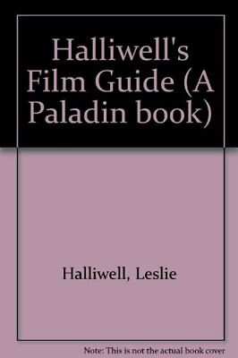Halliwell's Film Guide (A Paladin Book) By Leslie Halliwell • 2.89£