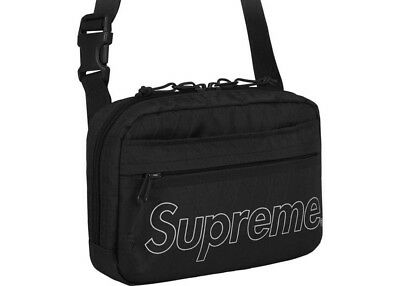 $ CDN242.48 • Buy BRAND NEW Supreme FW18 Shoulder Bag Black Fall Winter 2018 SOLD OUT