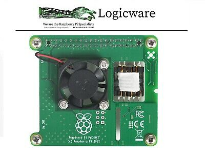 AU42.95 • Buy Raspberry Pi POE HAT - Power Over Ethernet Board - Official Product | 4B 3B+
