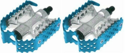 $24.99 • Buy Odyssey Triple Trap BMX Cage Pedals Blue Anodized 9/16