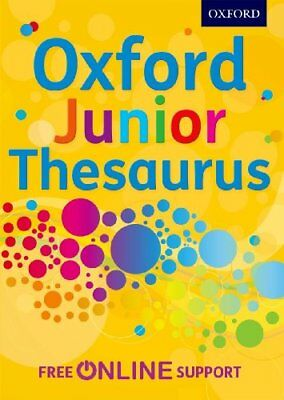 £3.26 • Buy Oxford Junior Thesaurus By Oxford Dictionaries