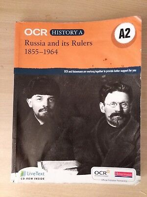 OCR Russia And Its Rulers 1855-1964 A2 History A2 Textbook With CD • 5.50£