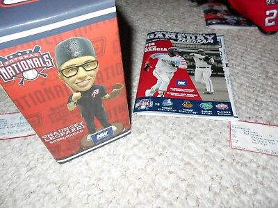 $ CDN63.42 • Buy Washington Nationals Bobblehead Potomac MIB Sandlot Chauncey Leopardi Squints