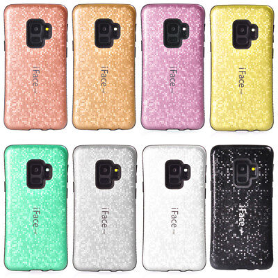 IFace Mall Blingbling Mosaic Shockproof Case Cover For Samsung S9 S8 Note 8 • 3.99£