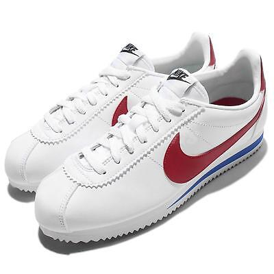 AU118.79 • Buy Wmns Nike Classic Cortez Leather OG Forrest Gum White Red Women Shoes 807471-103