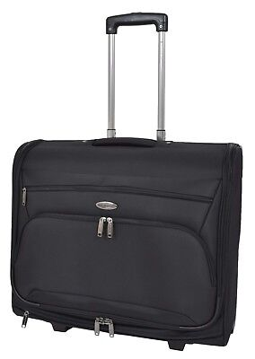 Soft Suit Carrier On Wheels Garment Dress Business Travel Hand Luggage Large Bag • 99£