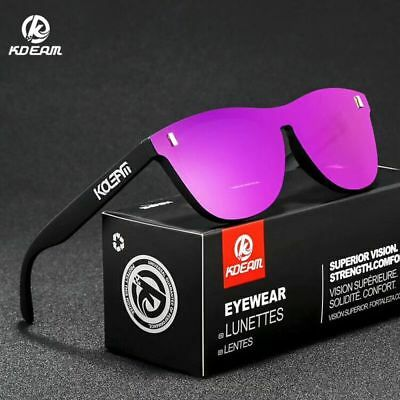 AU15.08 • Buy KDEAM Unisex TR90 Polarized Sunglasses Sport Outdoor Driving Cycling Glasses New