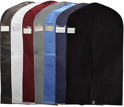 New Breathable Quality Garment Suit Covers Clothes Dress Storage Carrier Bag • 15.49£