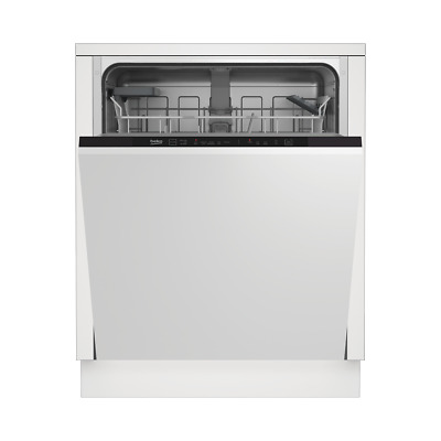View Details Beko DIN15R11 A+ Fully Integrated Dishwasher Full Size 60cm 13 Place Black New • 229.00£