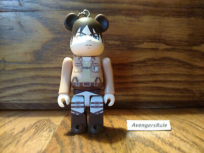 $7.95 • Buy Bearbrick Attack On Titan Keychain Medicom Eren Jaeger