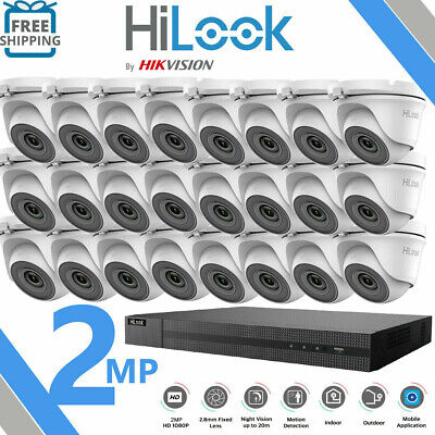 £53.01 • Buy Hikvision Cctv System 4ch 8ch 16ch Dvr Dome 20m Night Vision Camera Full Kit
