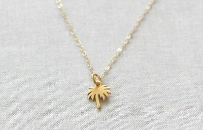 Tropical PALM TREE Necklace Alloy Necklace Chain Alloy Beach Holiday Summer UK • 2.42£