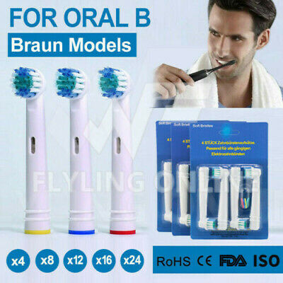 AU4.38 • Buy Up To 24 Braun Oral B Electric Toothbrush Replacement Heads Brushes