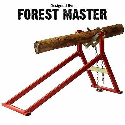 £94.90 • Buy Ultimate Saw Horse Wood Log Holder For Chainsaw Cutting Ush
