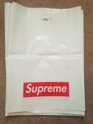 $ CDN130.34 • Buy Authentic Supreme Plastic Retail Bag Bogo (Various Sizes)