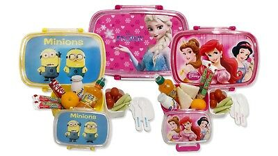 Kids Lunch Box In Favourite Characters, Perfect For School, Picnics & On The GO • 5.50£
