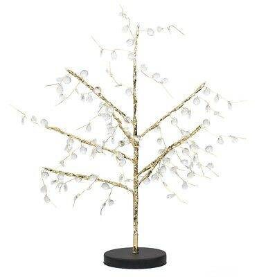 Decorative Gold Battery Operated 24 Warm White LED Bonsai Style Tree Table Lamp  • 4.74£