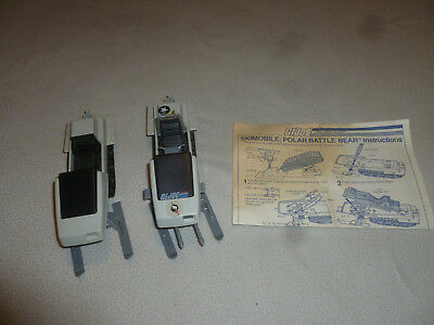 $ CDN75.73 • Buy Gi Joe Skimobile Polar Battle Bear Vintage Vehicles 1983 Hasbro W Instructions >