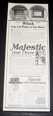 $12.99 • Buy 1921 Old Magazine Print Ad, Majestic, Coal Chute And Duplex Heating System!