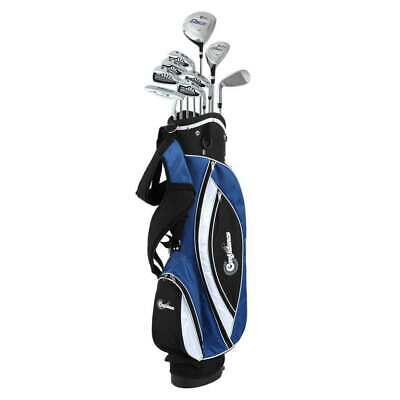 AU255.97 • Buy Confidence Golf Mens Power V3 Club Set And Stand Bag LEFTY