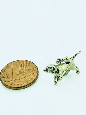 £116 • Buy 9ct Yellow Gold  Pointer  Dog Charm