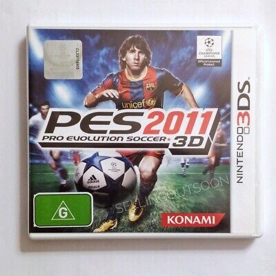 AU78.95 • Buy Pro Evolution Soccer 2011 3D (NEW RARE) PAL Nintendo 2DS 3DS Game Console PES 11