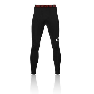 £39.99 • Buy Asics Recovery Mens Black Compression Training Long Tights Sports Bottoms Pants