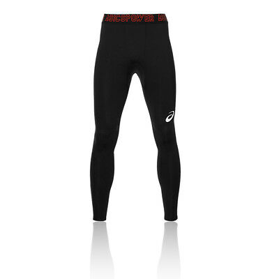 Asics Recovery Mens Black Compression Training Long Tights Sports Bottoms Pants • 29.99£