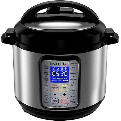 $135.95 • Buy Instant Pot Duo Plus 60, 6 Qt 9-In-1 Multi- Use Programmable Pressure Cooker,etc