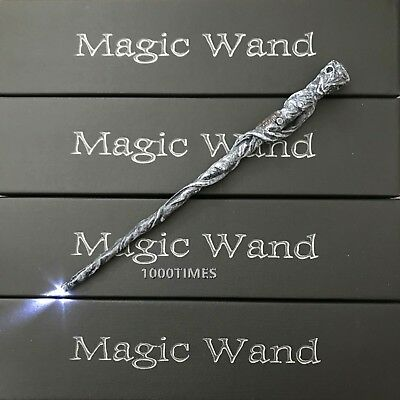 $14.59 • Buy Harry Potter Mad Eye Moody Old Ghost Magic Wand W/  LED Light Up Cosplay Costume