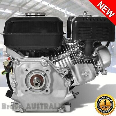 AU205.50 • Buy Petrol Engine 6.5HP Motor 196cc Splitter Mower Pump Gokart Recoil 3.7L Motor